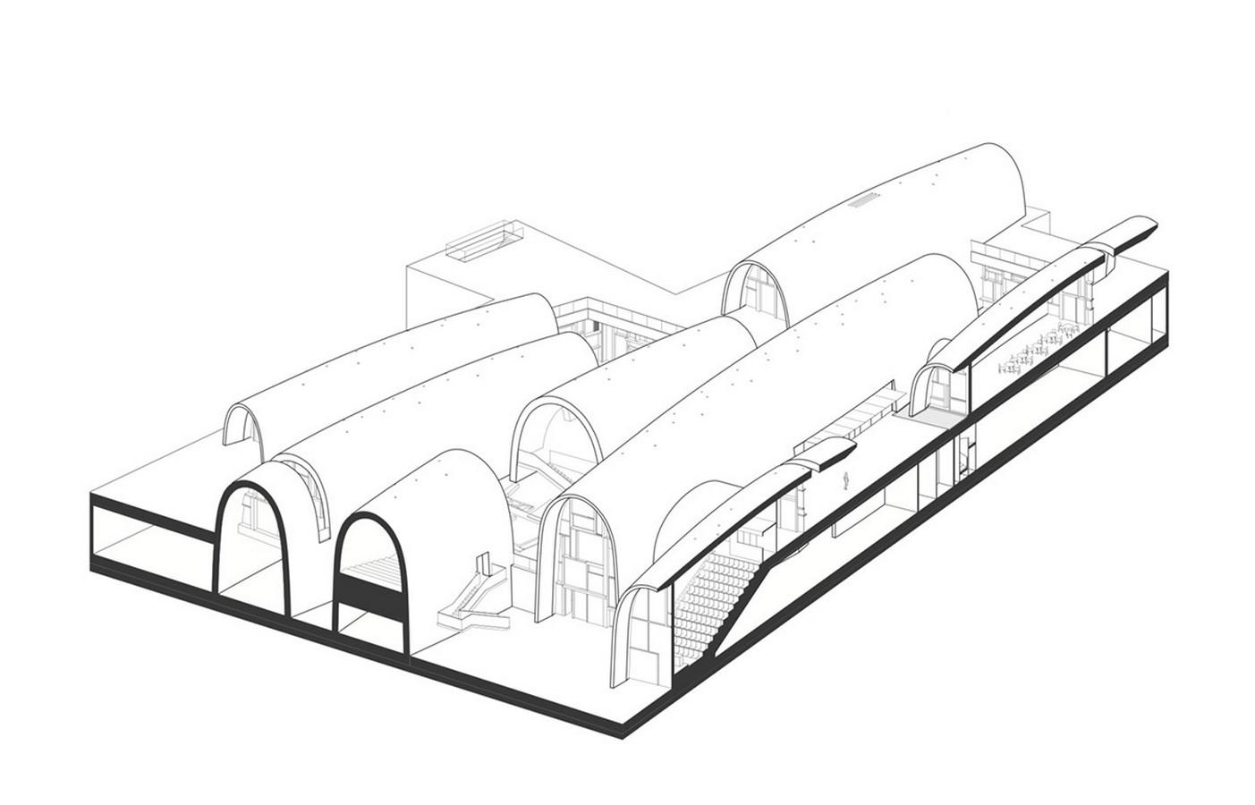 Giant Vaults From Recycled Old Kiln Bricks to transform into Jingdezhen Kiln Museum designed by Studio Zhu-Pei - Sheet4