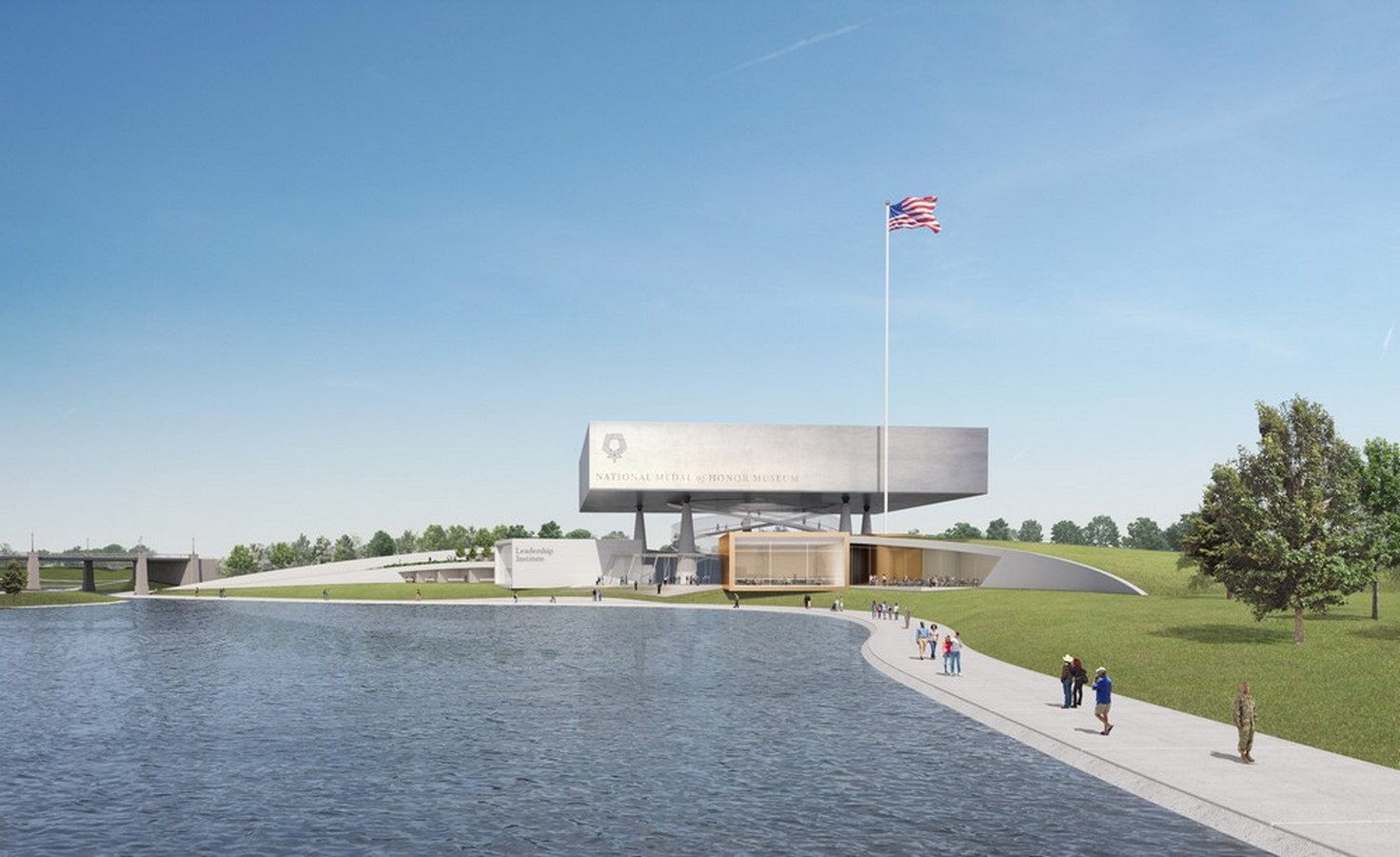 National Medal of Honor Museum in Arlington designs revealed by Rafael Viñoly Architects - Sheet1