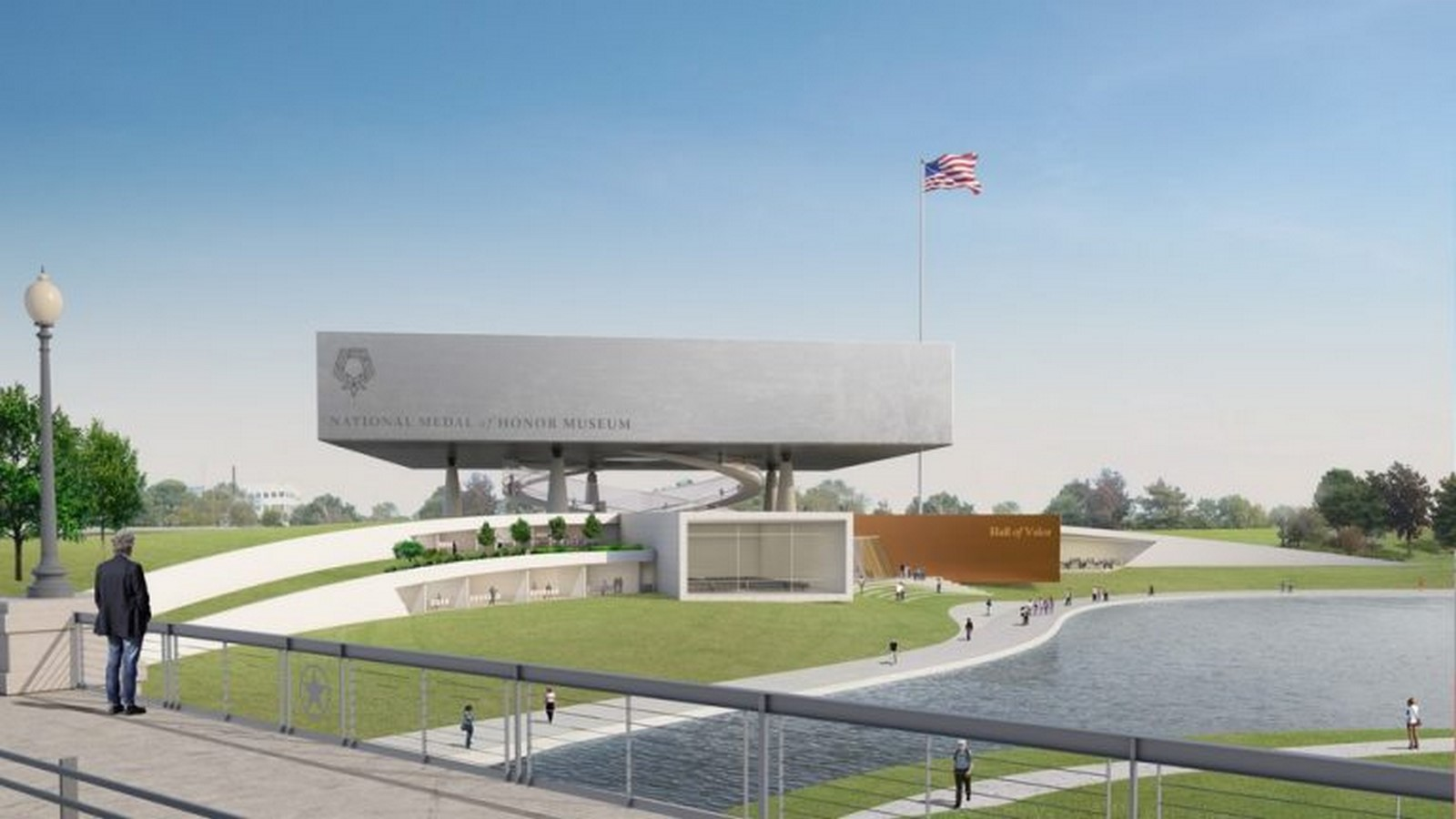 National Medal of Honor Museum in Arlington designs revealed by Rafael Viñoly Architects - Sheet2