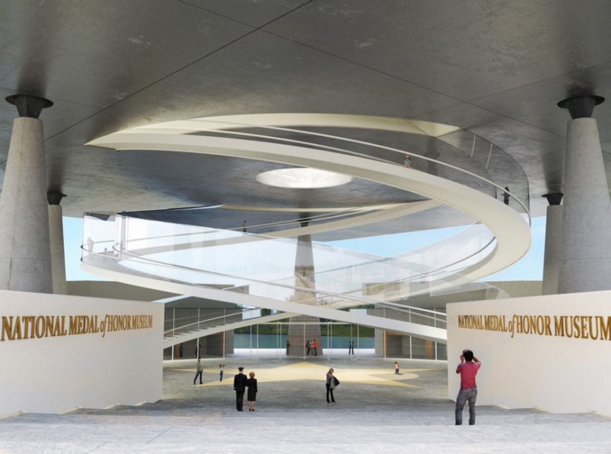 National Medal of Honor Museum in Arlington designs revealed by Rafael Viñoly Architects - Sheet3