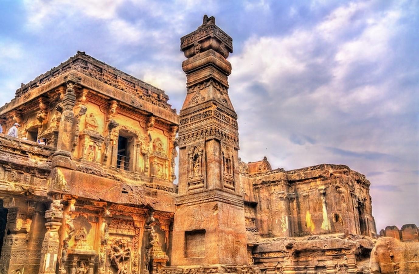 Kailasa Temple, Ellora- The Ancient rock-cut temple - Sheet1