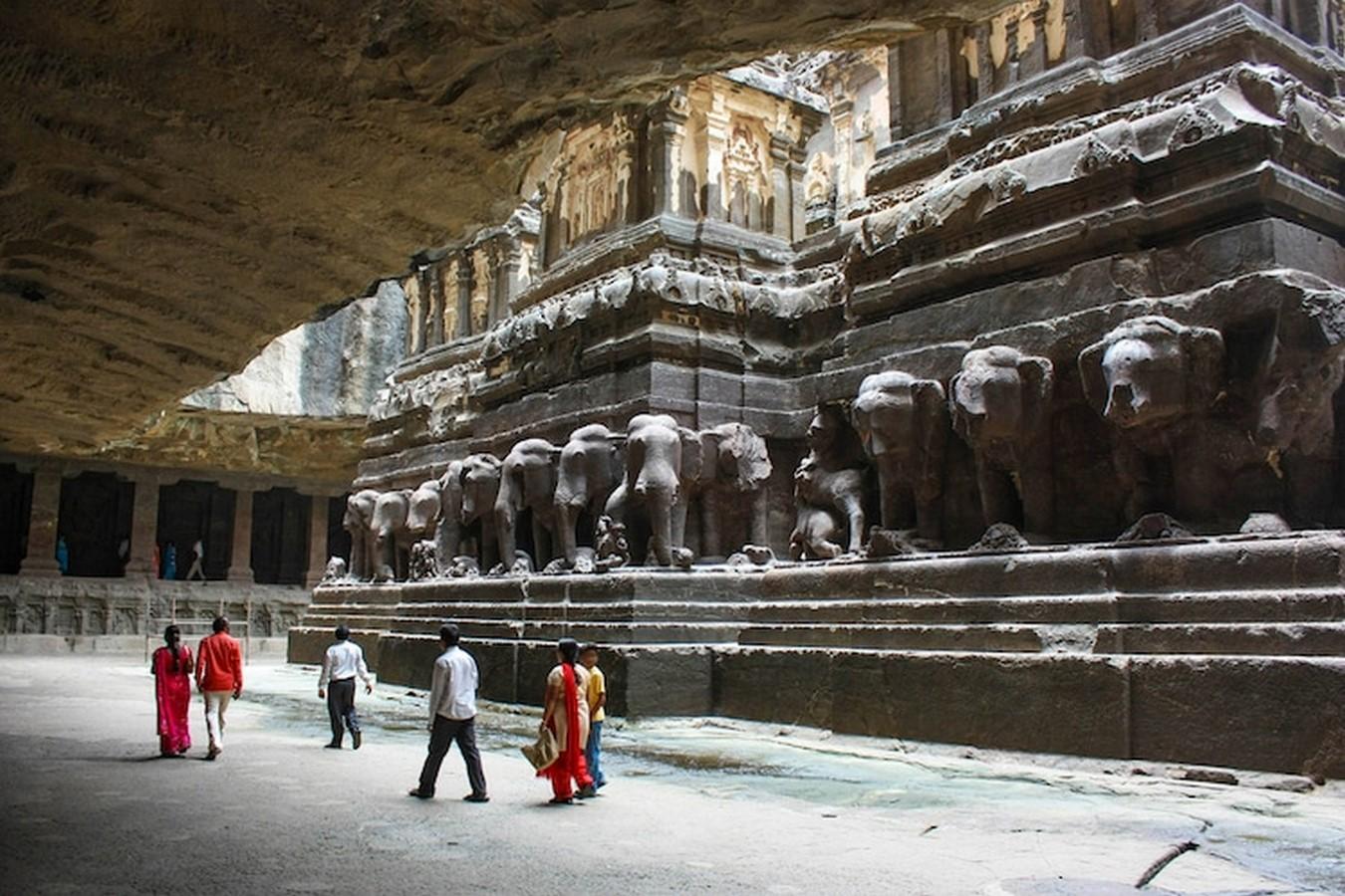 Kailasa Temple, Ellora- The Ancient rock-cut temple - Sheet3