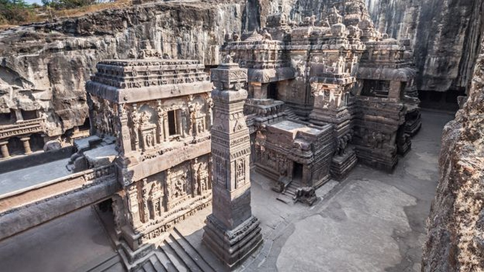 Kailasa Temple, Ellora- The Ancient rock-cut temple - Sheet5