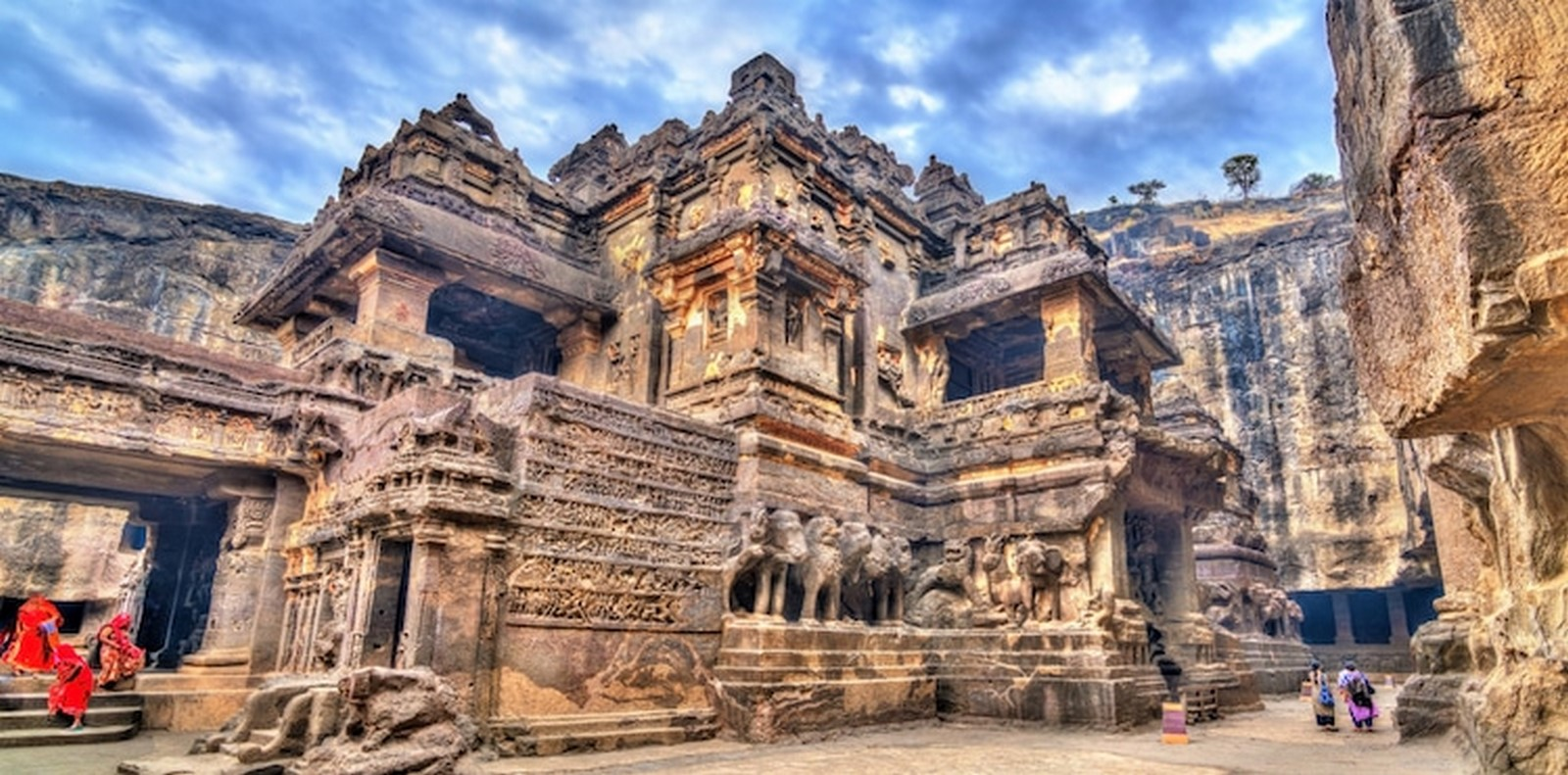The Ancient rock-cut temple - Sheet7