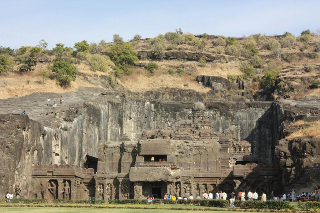 The Ancient rock-cut temple - Sheet9