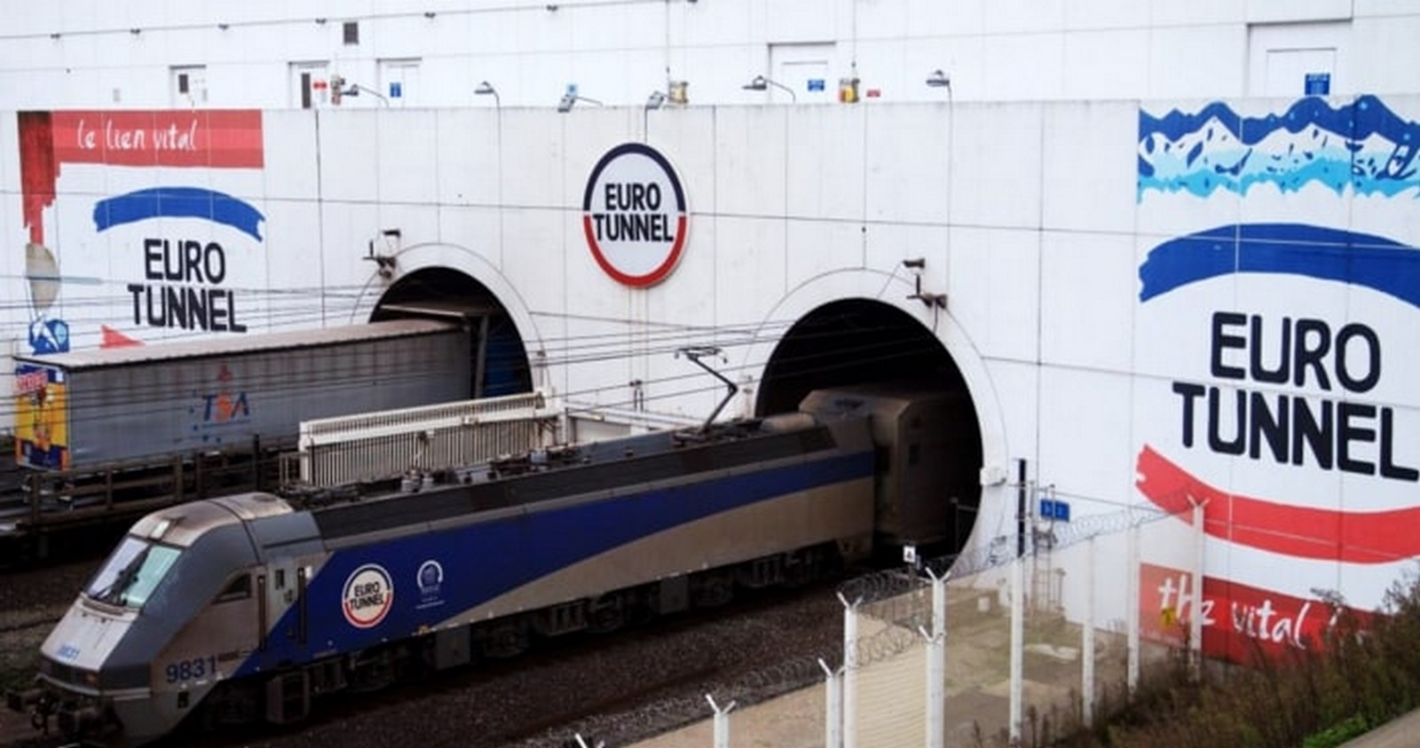 Channel Tunnel by Albert Mathieu- Modern way of travelling - Sheet1