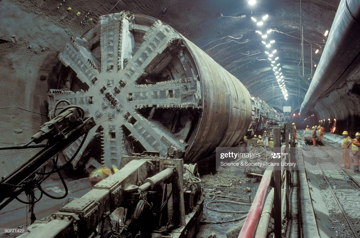Channel Tunnel by Albert Mathieu- Modern way of travelling - Sheet6