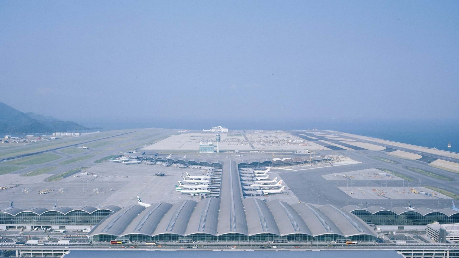 Hong Kong International Airport by Foster+Partners- most ambitious construction of the modern times - Sheet1