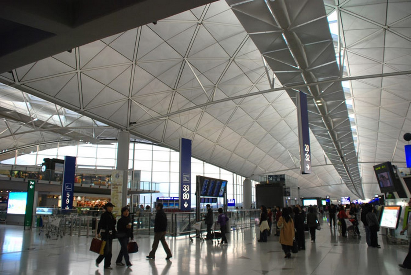 Hong Kong International Airport by Foster+Partners- most ambitious construction of the modern times - Sheet4