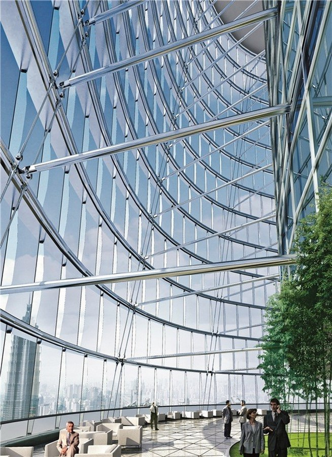 Examples of Sustainability in modern architecture forms. - Sheet8