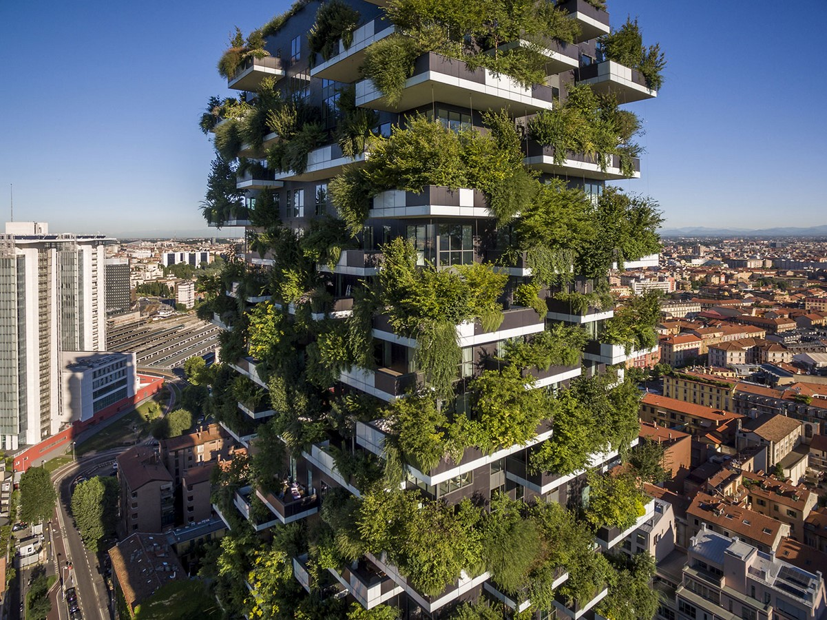 Examples of Sustainability in modern architecture forms. - Sheet17