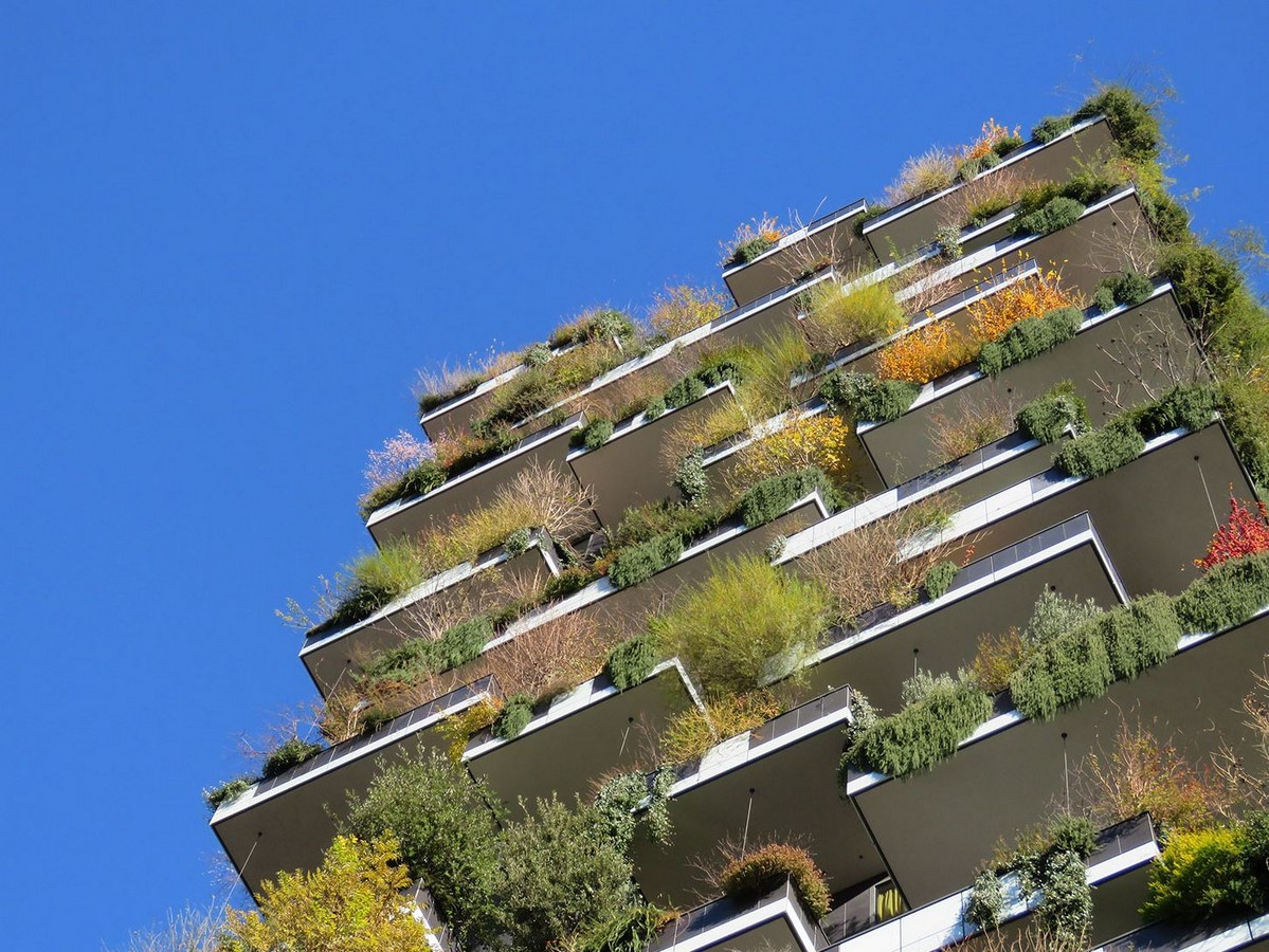 Examples of Sustainability in modern architecture forms. - Sheet18