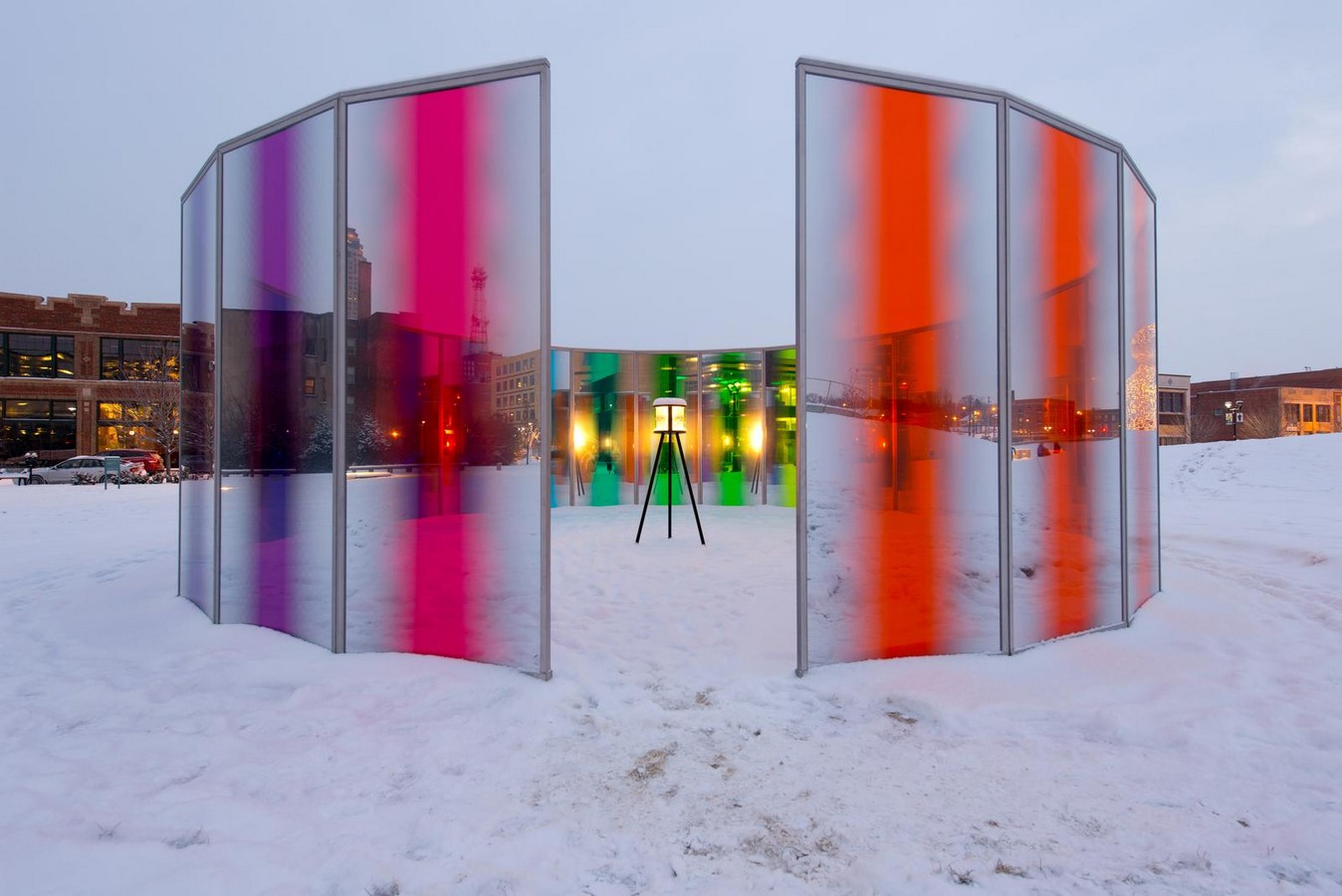 Panoramic awareness pavilion: Olafur Eliasson - Sheet3