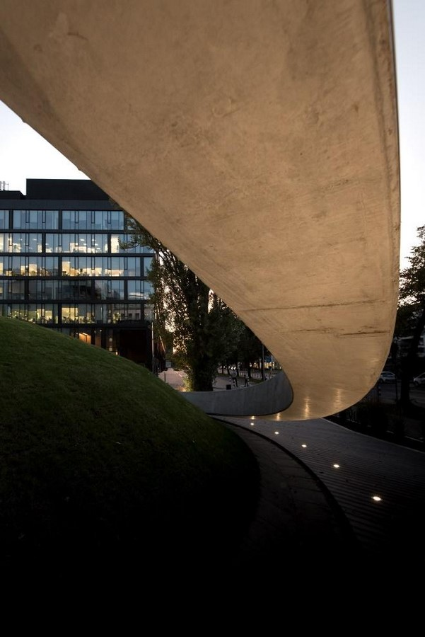 A concrete amphitheater as an 'open, democratic space' in Warsaw designed by Lina - Sheet13