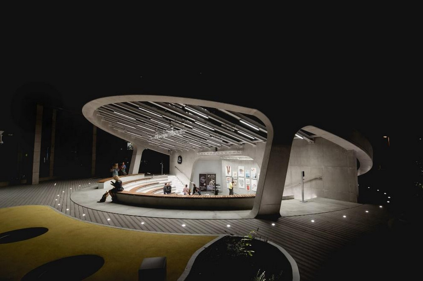 A concrete amphitheater as an 'open, democratic space' in Warsaw designed by Lina - Sheet14