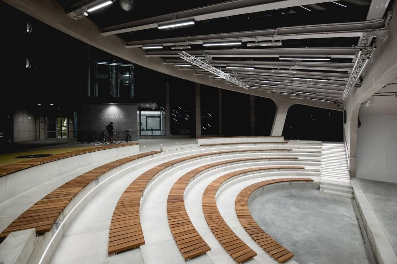 A concrete amphitheater as an 'open, democratic space' in Warsaw designed by Lina - Sheet15