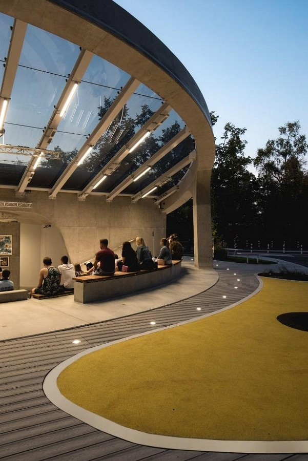 A concrete amphitheater as an 'open, democratic space' in Warsaw designed by Lina - Sheet8