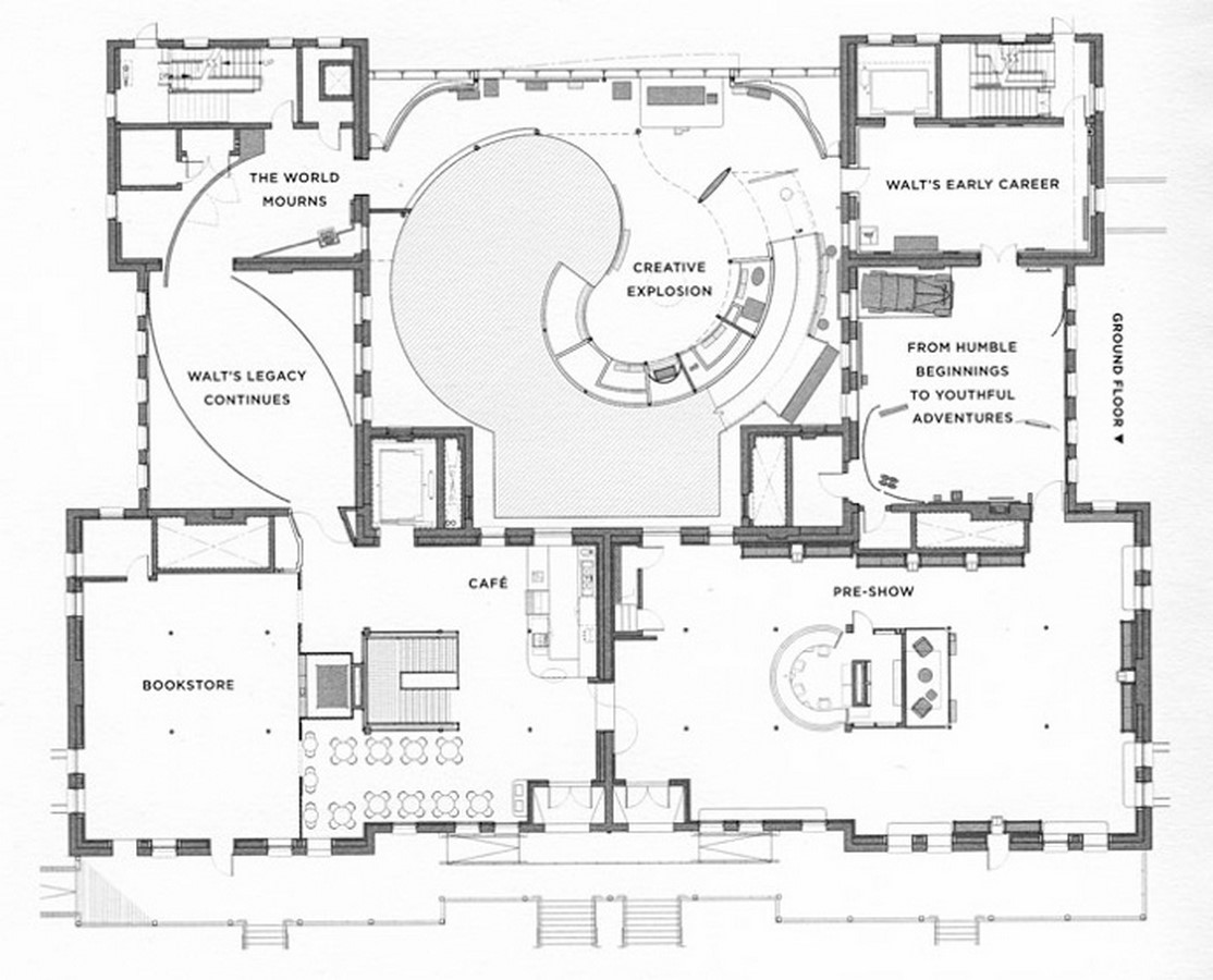 Walt Disney Family Museum by Rockwell Group- Telling a story through architecture - Sheet12