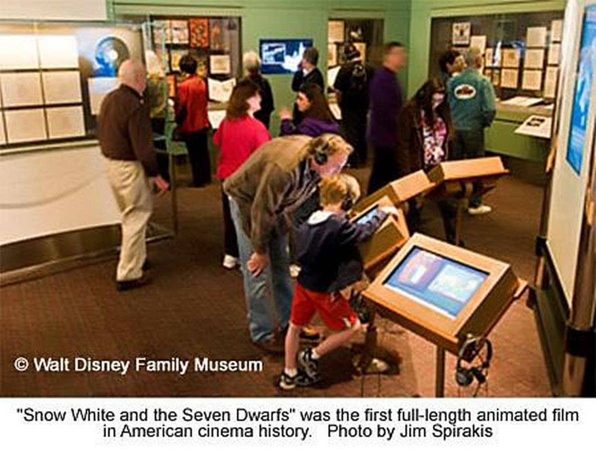 Walt Disney Family Museum by Rockwell Group- Telling a story through architecture - Sheet20