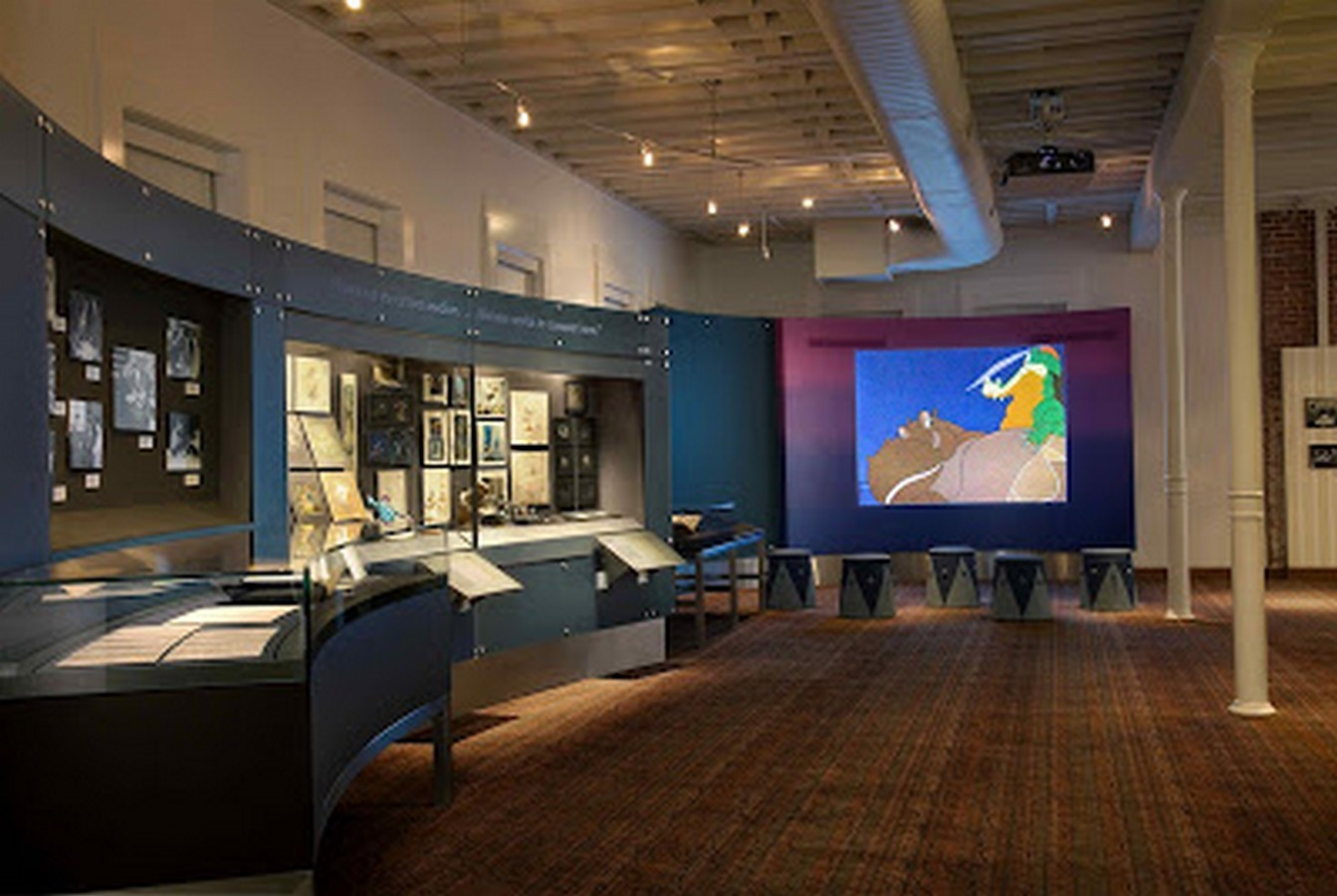 Walt Disney Family Museum by Rockwell Group- Telling a story through architecture - Sheet22