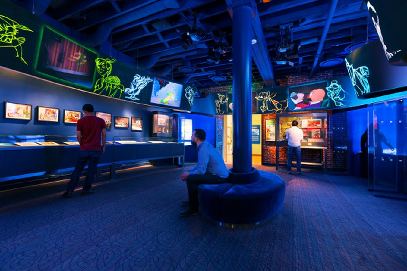 Walt Disney Family Museum by Rockwell Group- Telling a story through architecture - Sheet36