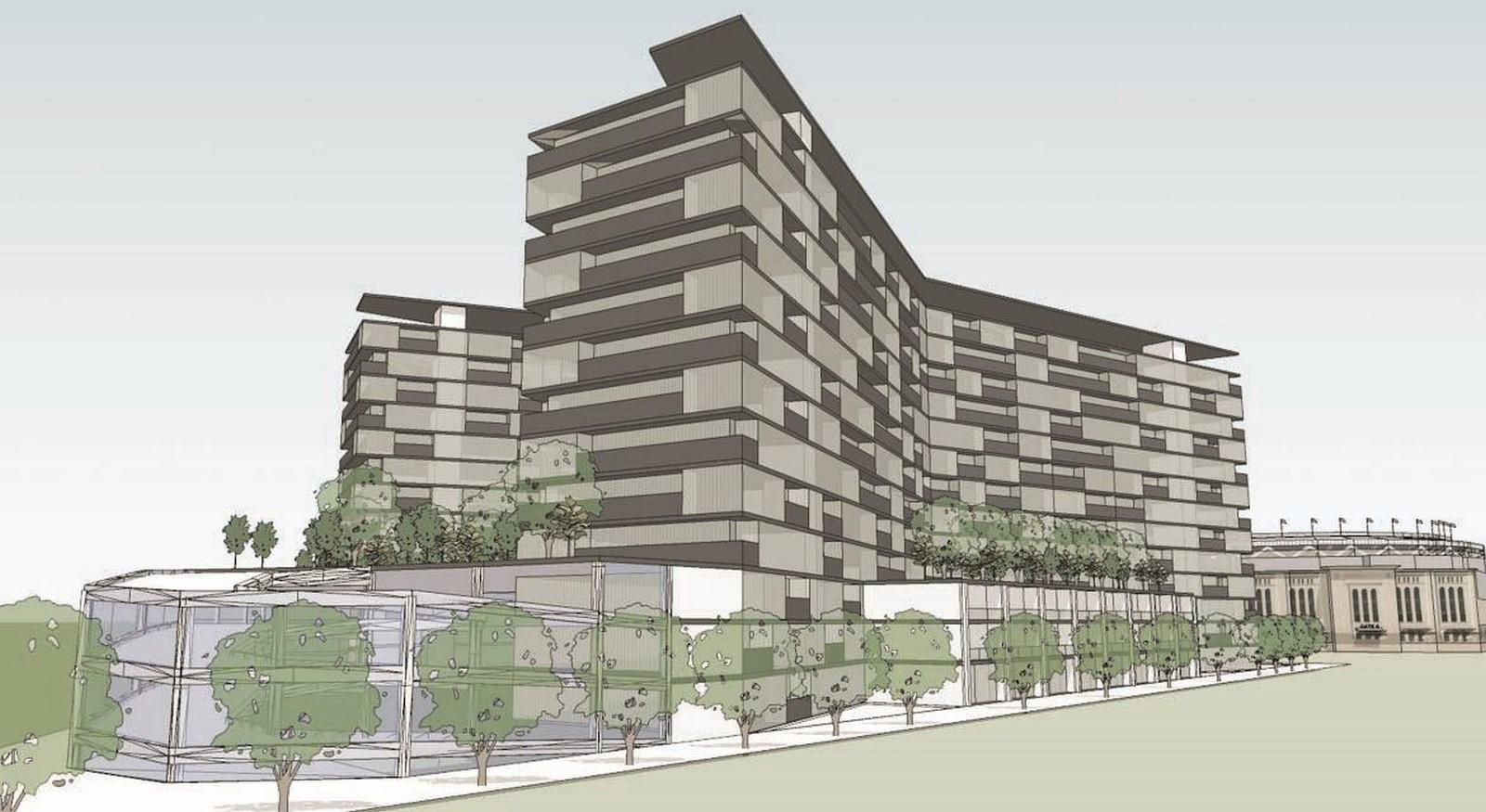 River Avenue View Master Plan - Sheet2