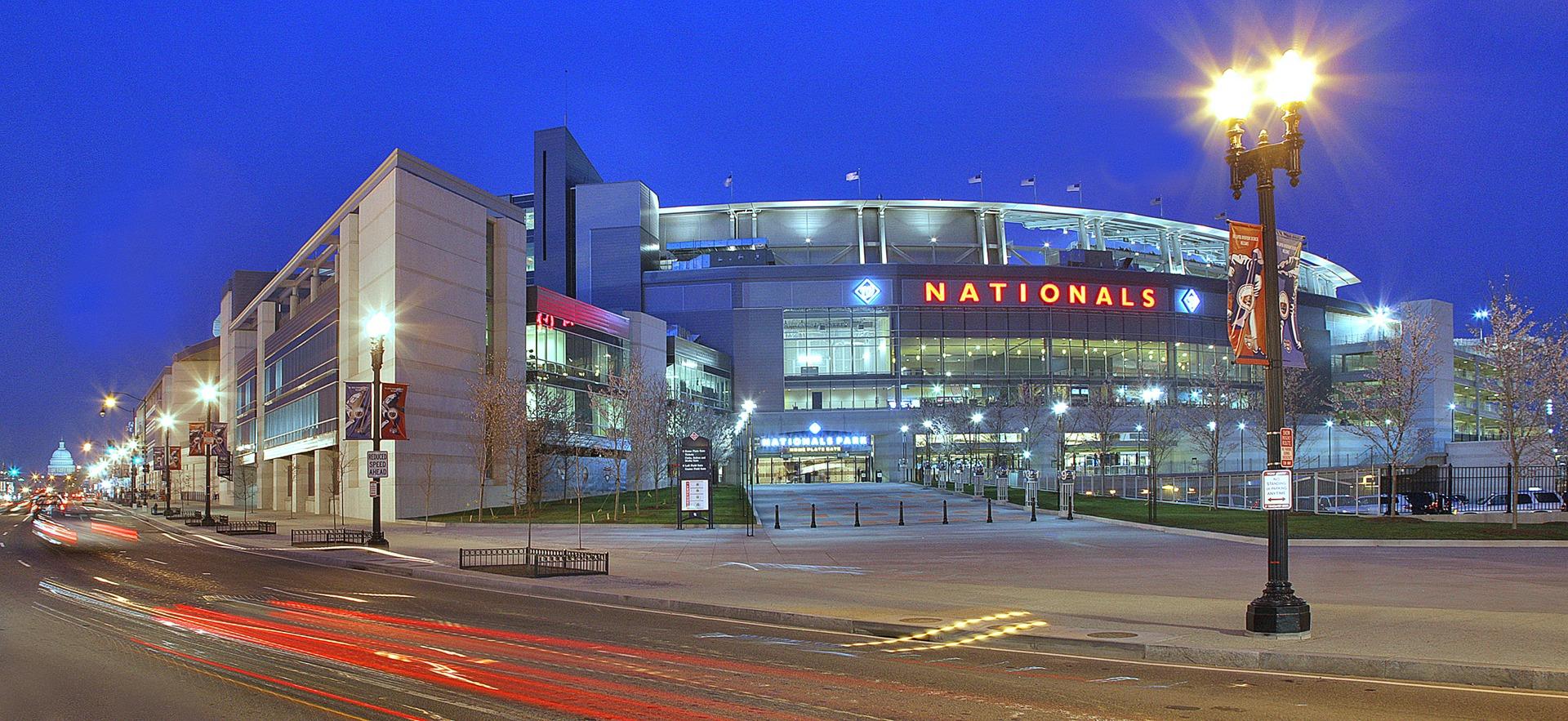 Washington Nationals Baseball Stadium - Sheet1