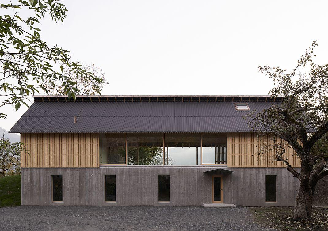 House Schneller Bader, Tamins - Sheet1
