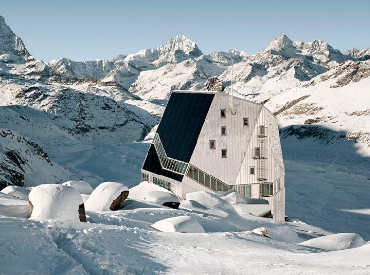 New Monte Rosa Hut, Zermatt - Sheet3