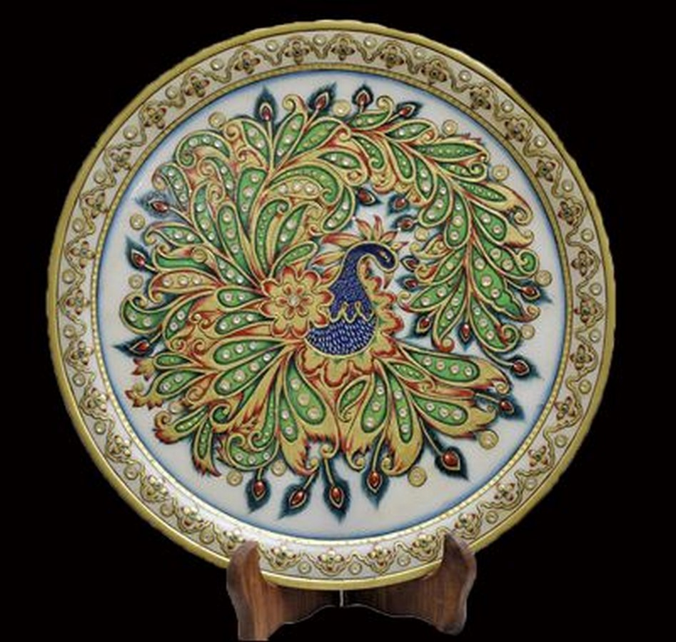 10 Unknown Handicrafts of Rajasthan -THEWA- GLASS WORK - Sheet1