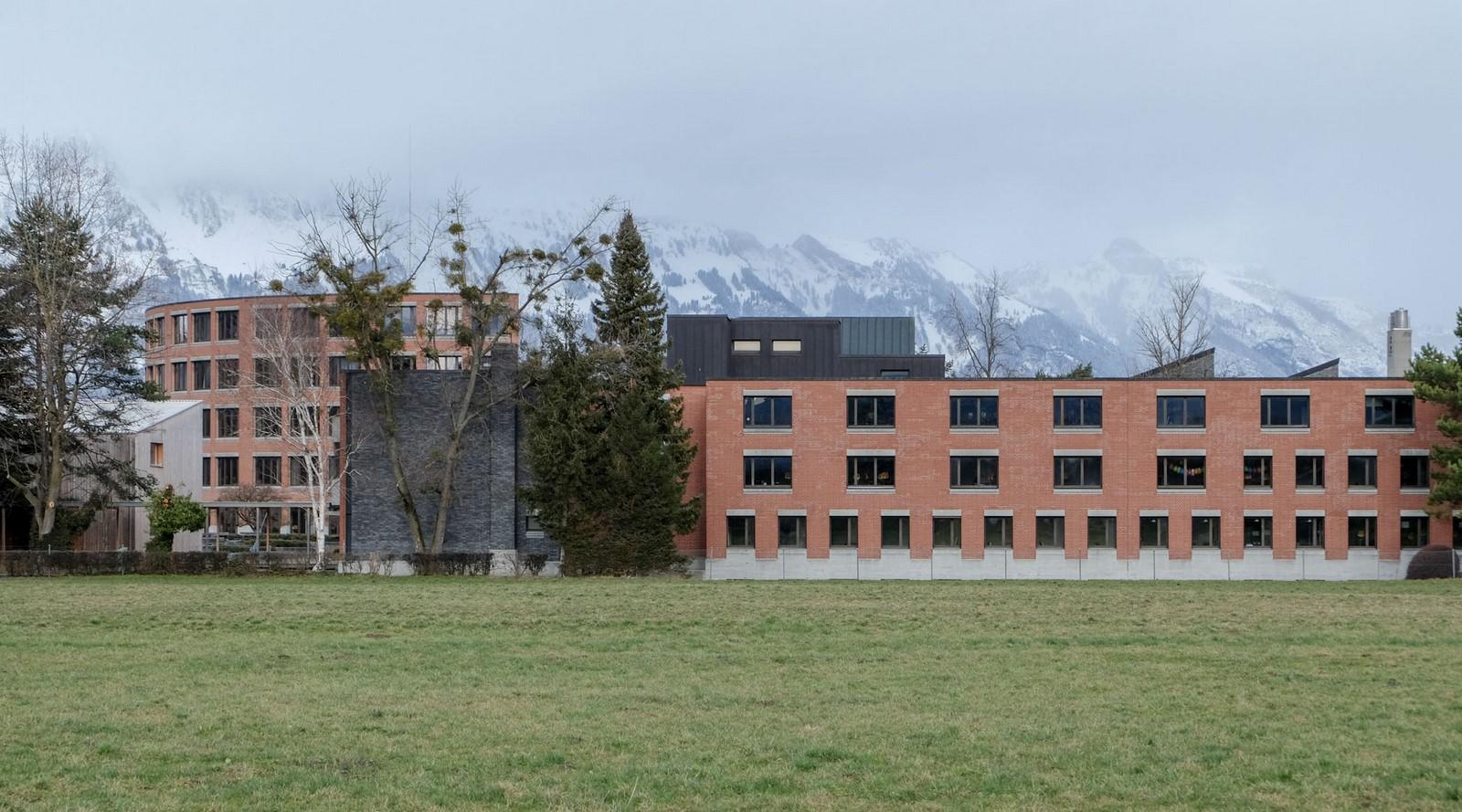 School Center,Mühleholz - Sheet3