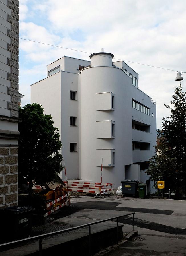 Apartment building- Clausiusstrasse - Sheet1