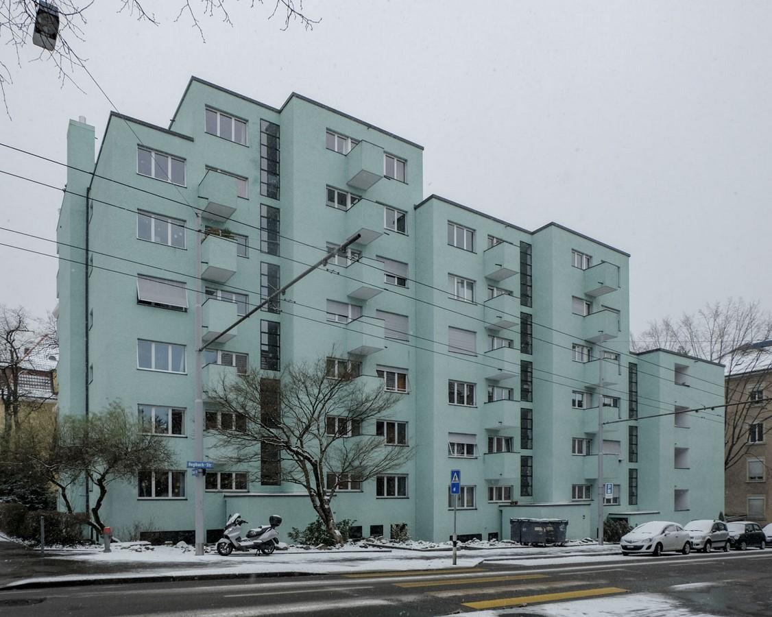Apartment building- Hegibachstrasse - Sheet1