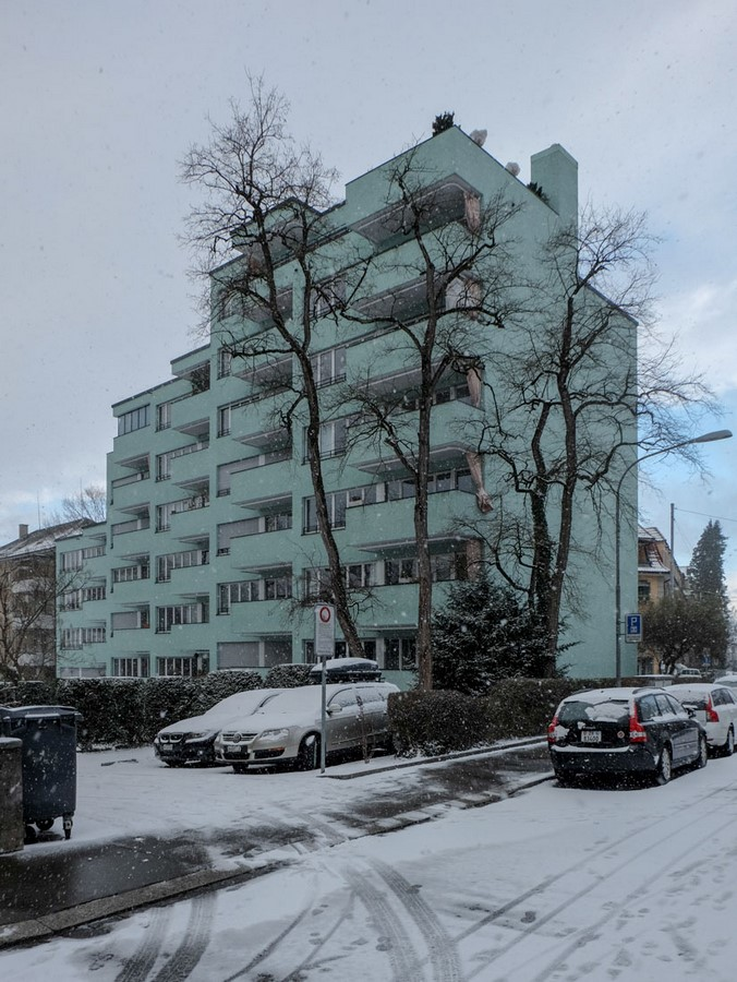 Apartment building- Hegibachstrasse - Sheet2