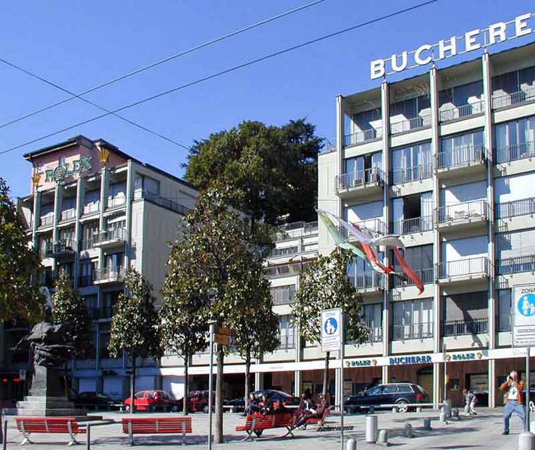 Building With Shops And Apartments, Lugano, Ticino, Switzerland