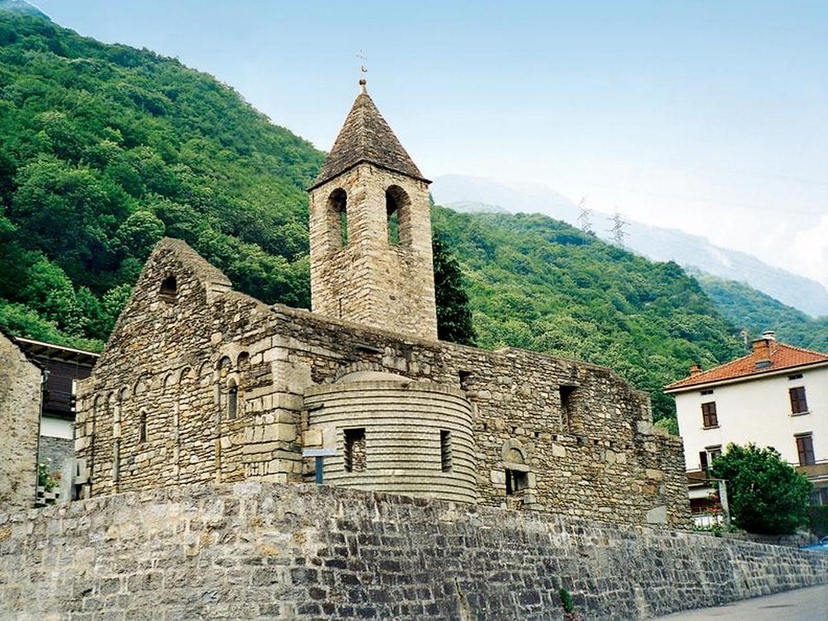 Church of San Giovanni Battista, Gnosca - Sheet1