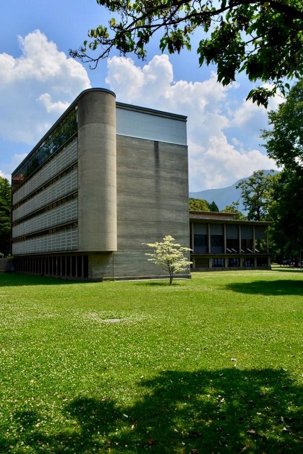 Cantonal Library, Lugano (1941) - Sheet2