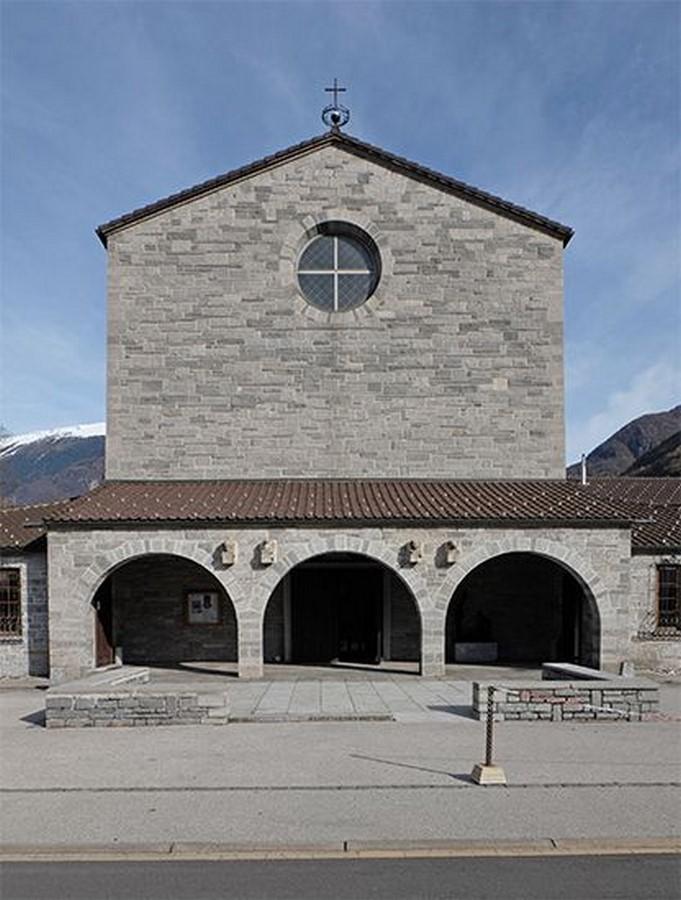 Church of the Sacred Heart, Bellinzona (1936) - Sheet1