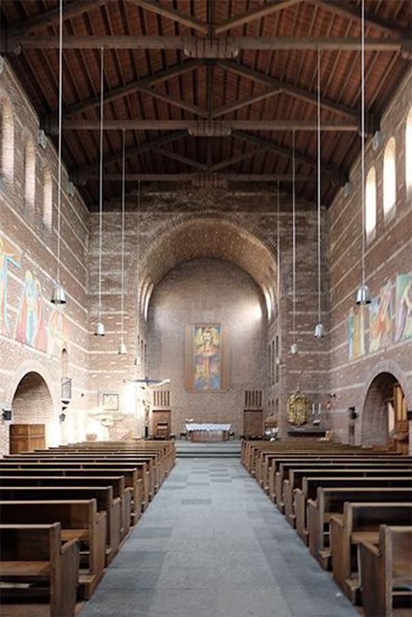 Church of the Sacred Heart, Bellinzona (1936) - Sheet3