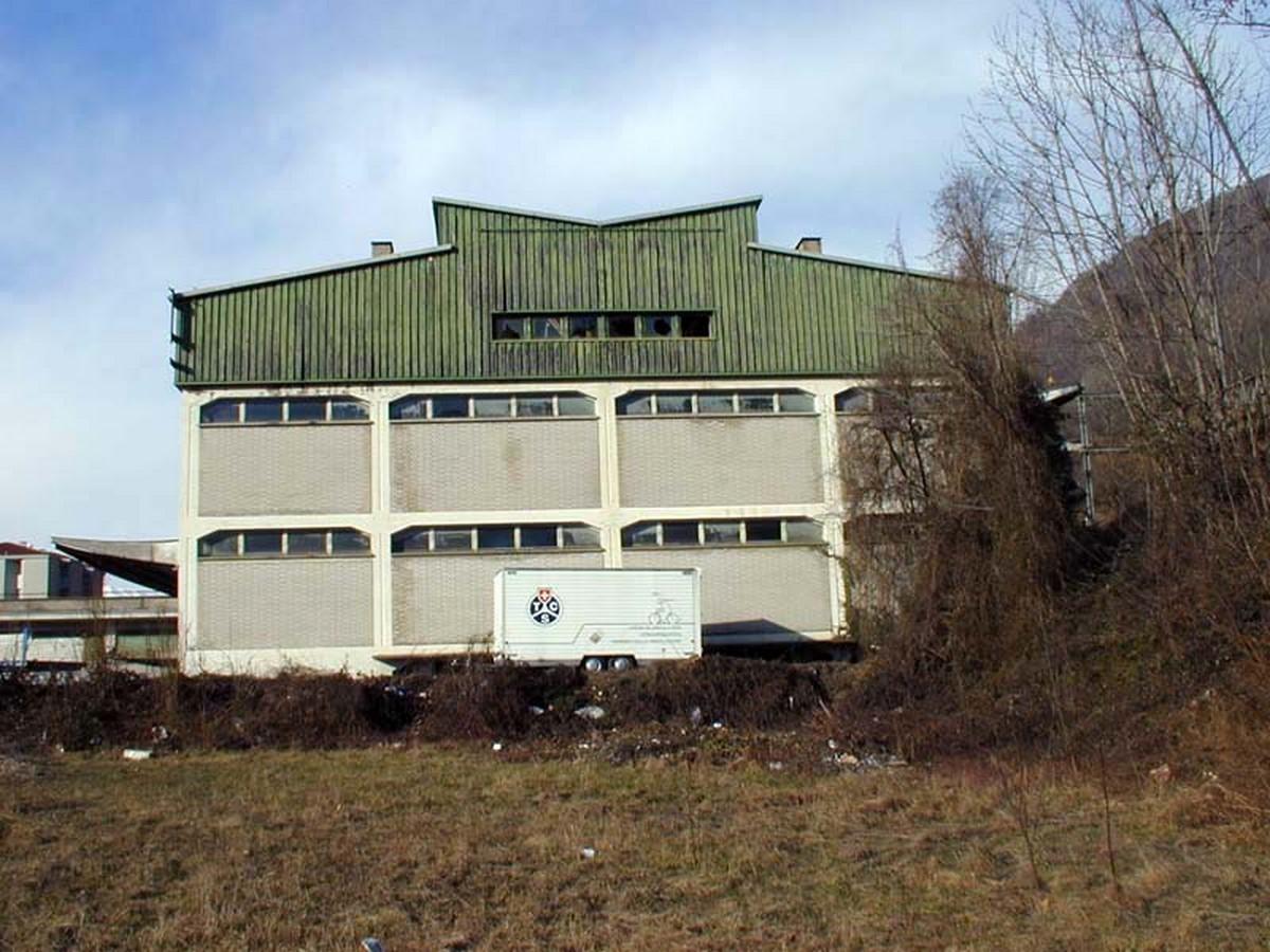 Usego Warehouses, Bironico (1950) - Sheet1