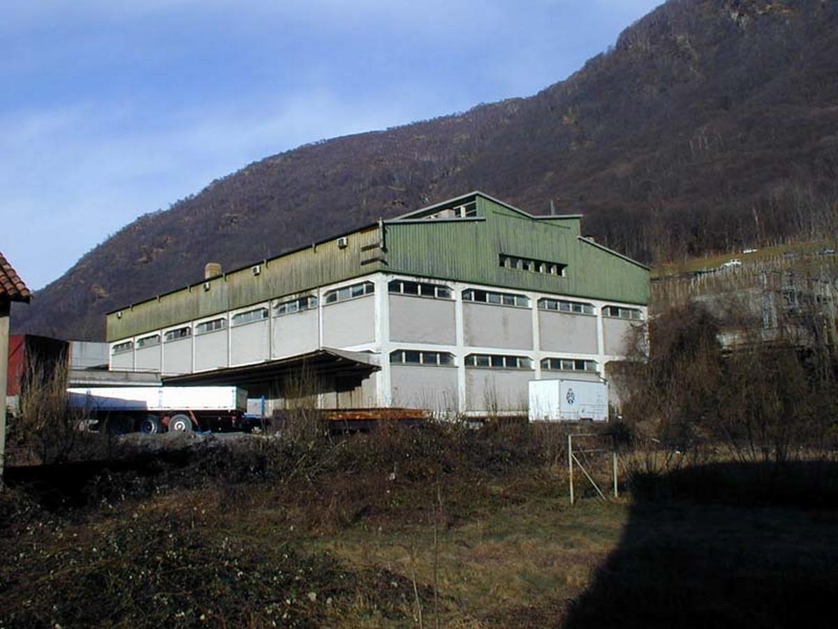 Usego Warehouses, Bironico (1950) - Sheet2