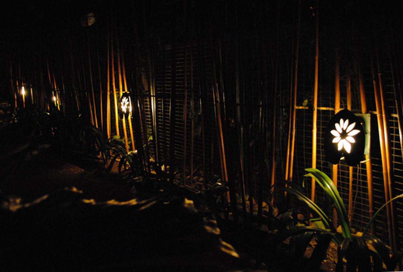 Interiors: The Lodi garden restaurant, New Delhi: - Sheet2