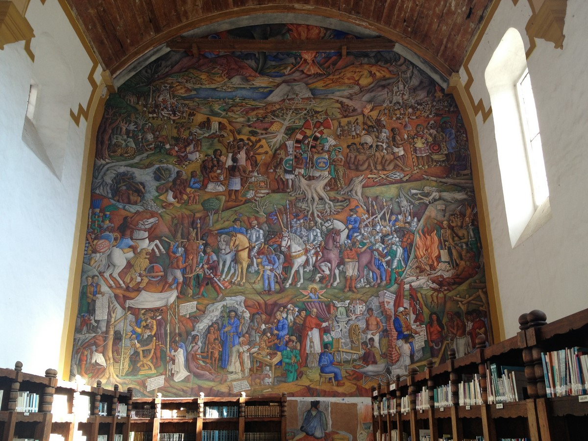 Gertrudis Bocanegra Library, Patzcuaro - Sheet1