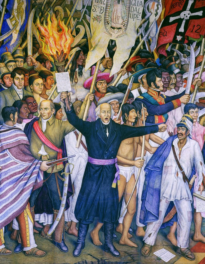 The Cry of Independence in the Museum of National History in Chapultepec Castle - Sheet1
