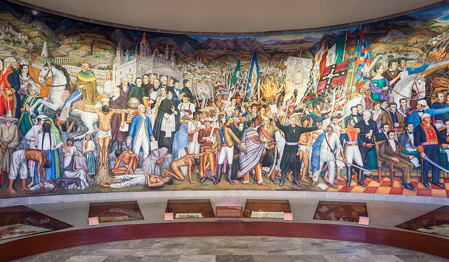 The Cry of Independence in the Museum of National History in Chapultepec Castle - Sheet2
