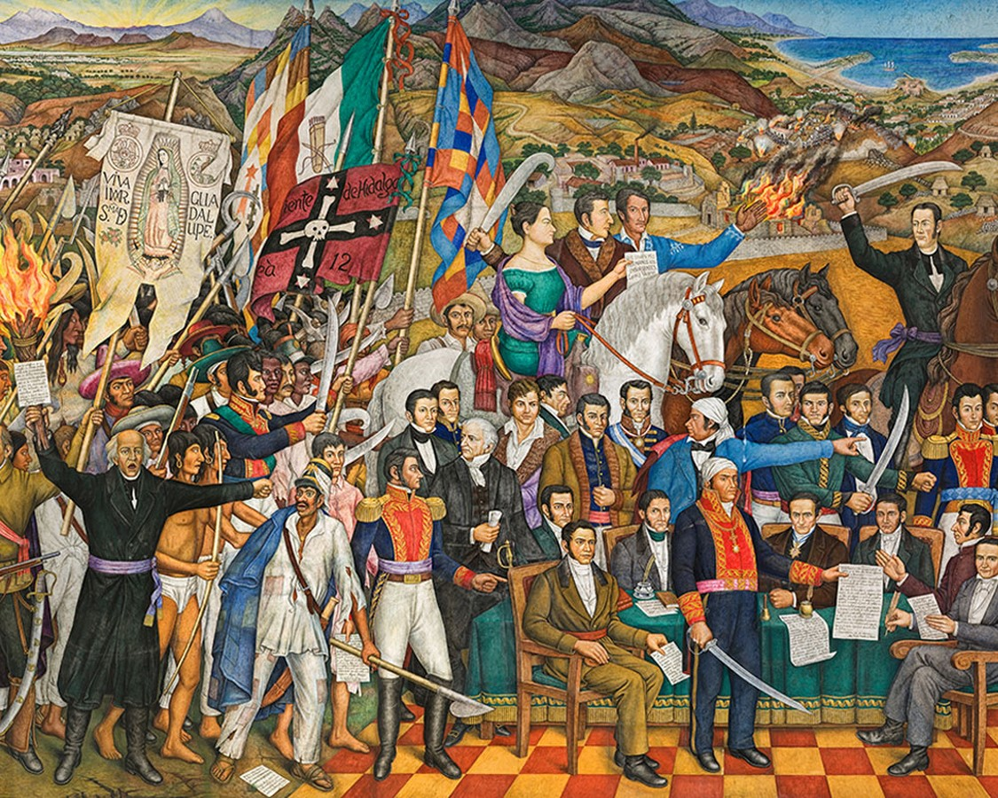The Cry of Independence in the Museum of National History in Chapultepec Castle - Sheet3