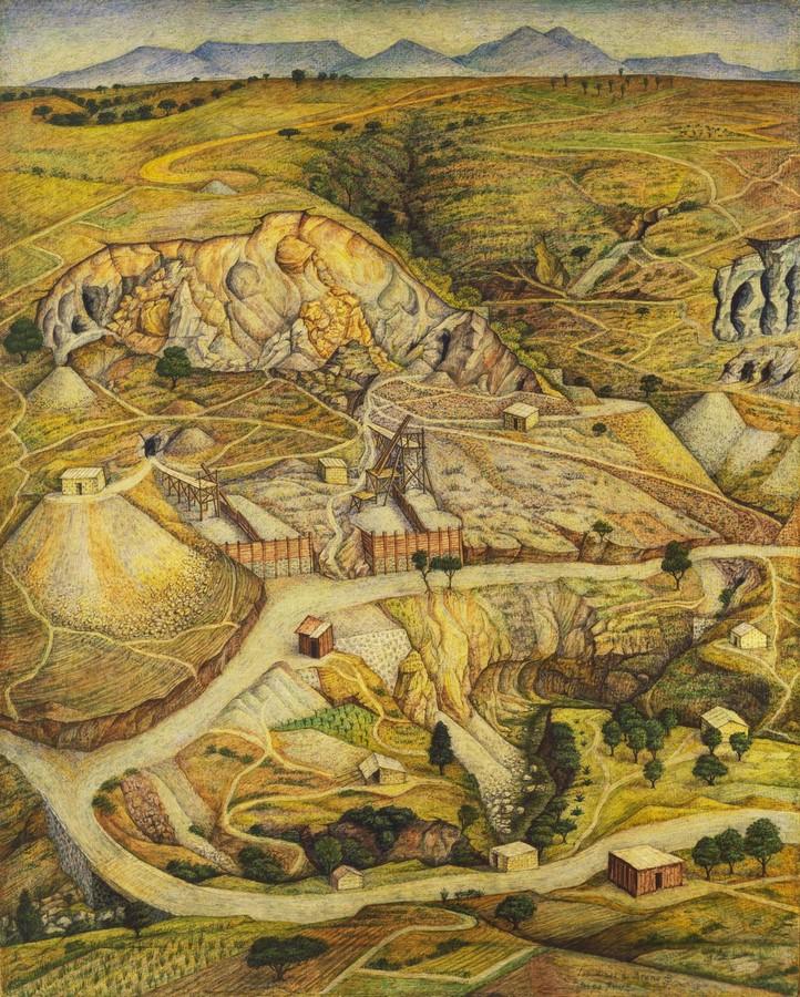 The Sand Mines Of Tetelpa