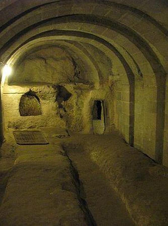 Derinkuyu underground city, Turkey - Sheet1