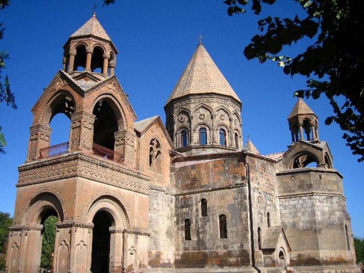 Etchmiadzin cathedral, Armenia - Sheet1