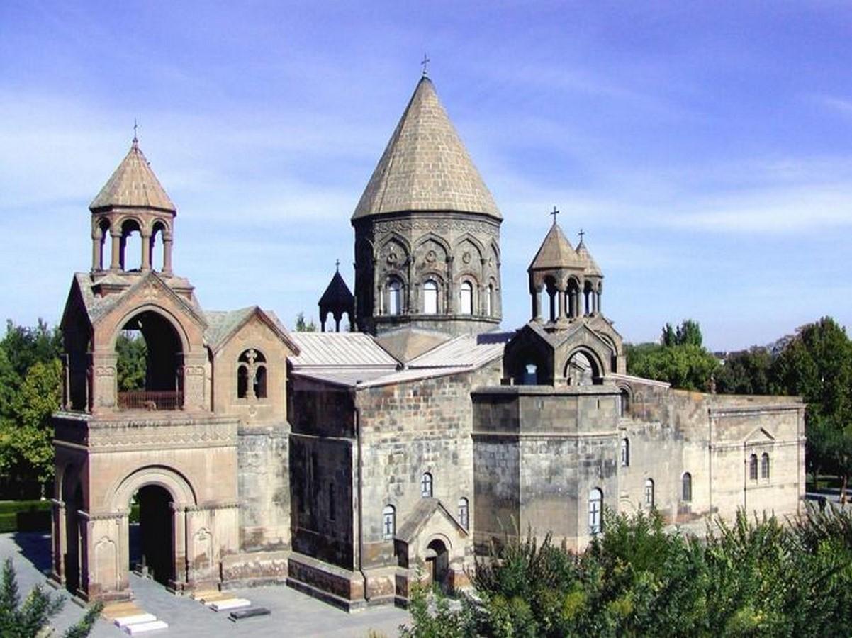 Etchmiadzin cathedral, Armenia - Sheet3